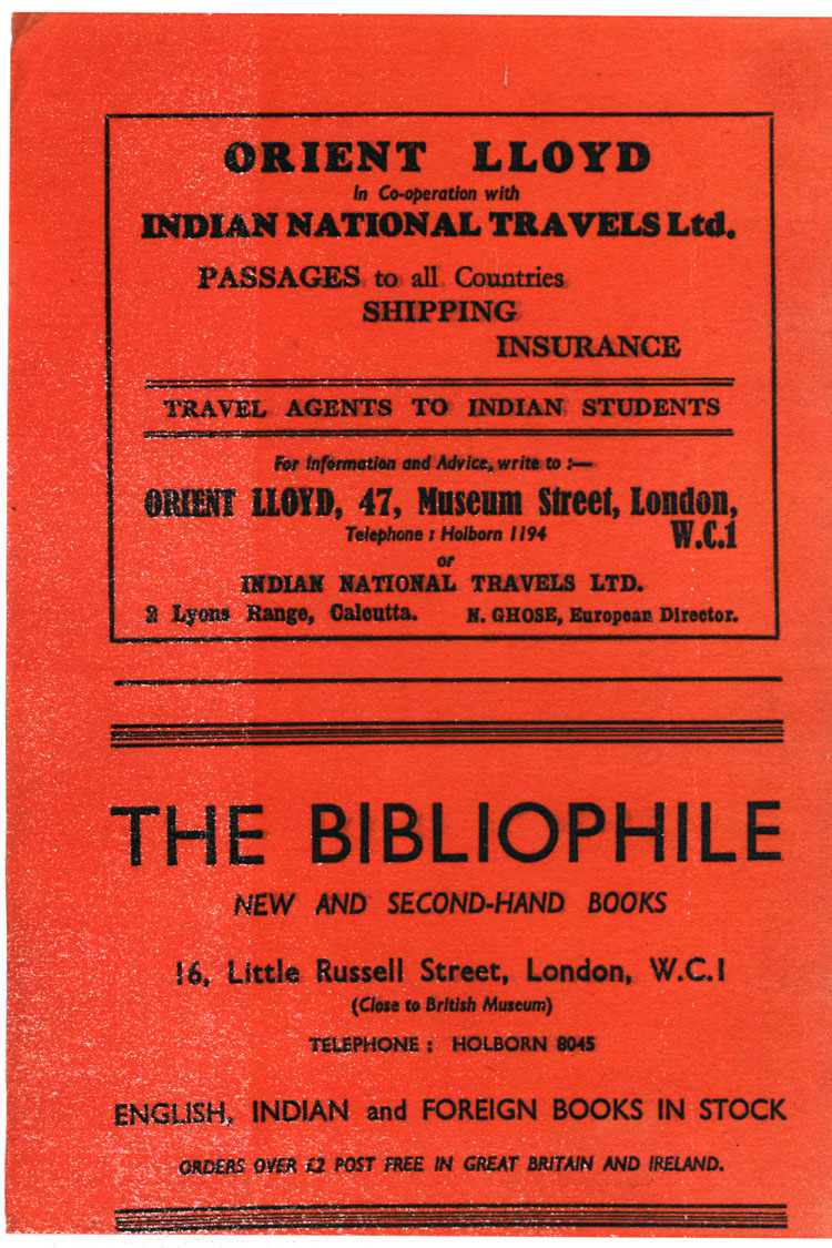 Inside Cover - Adverts